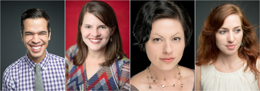 Crisp, colorful, fresh headshots in Bloomington, Indiana portrait studio by TALL + small Photo