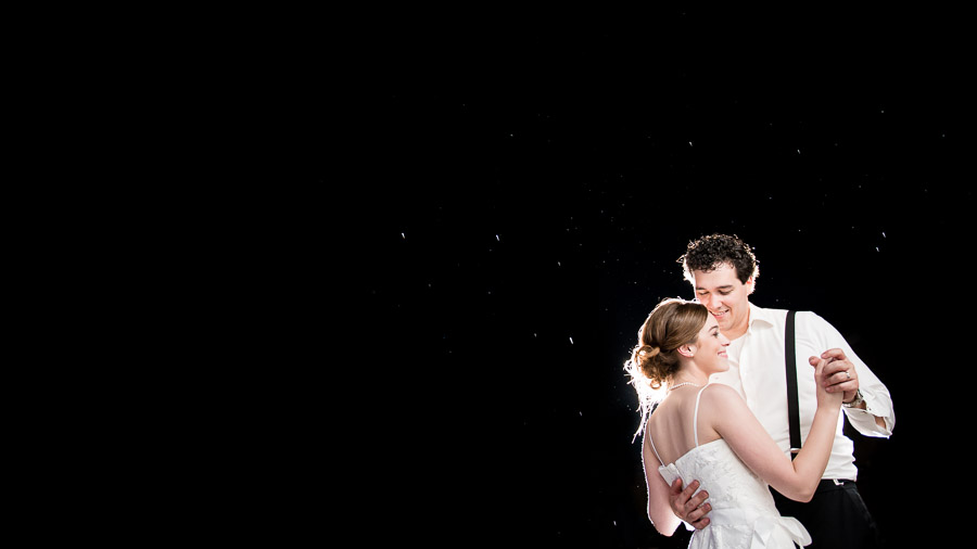 First dance under the stars at West Baden Hotel in Indiana by TALL + small Photography