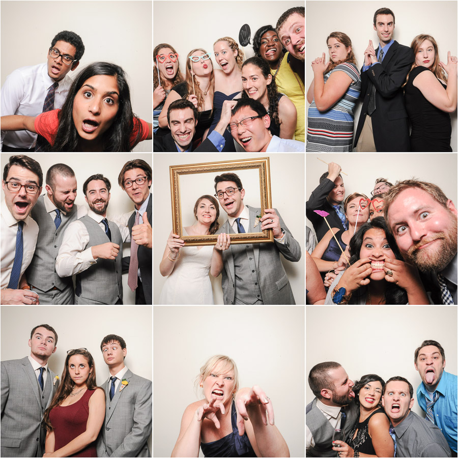 Sweet wedding photobooth by TALL+small in Indianapolis.