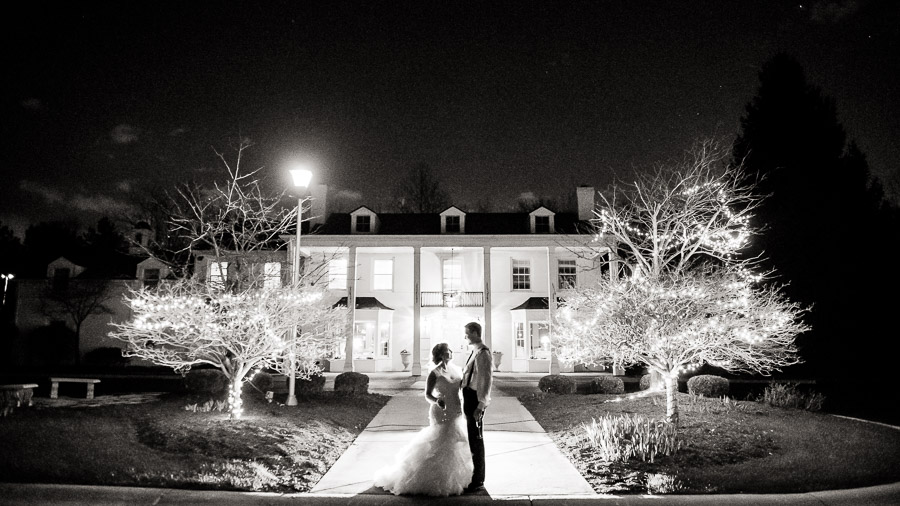 Indianapolis Landmarks Center Oak Hill Mansion Wedding