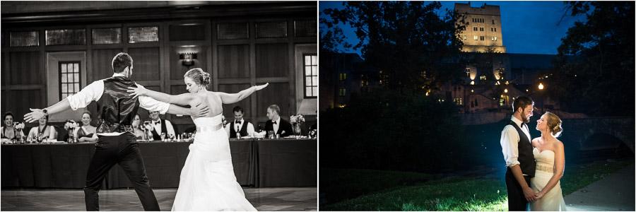 IU Wedding Photos at Alumni Hall
