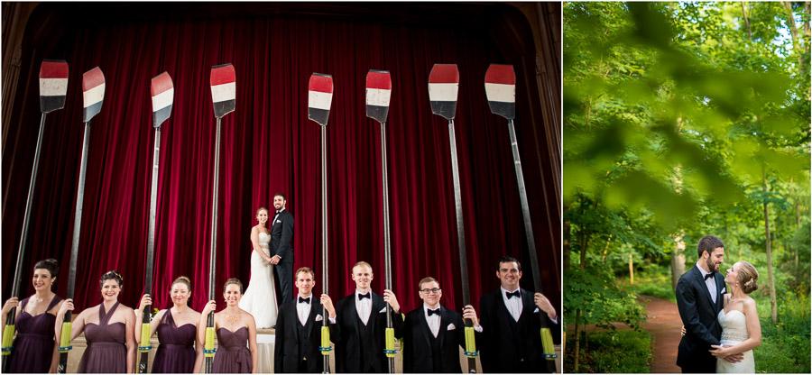 IU Alumni Hall Wedding Photos
