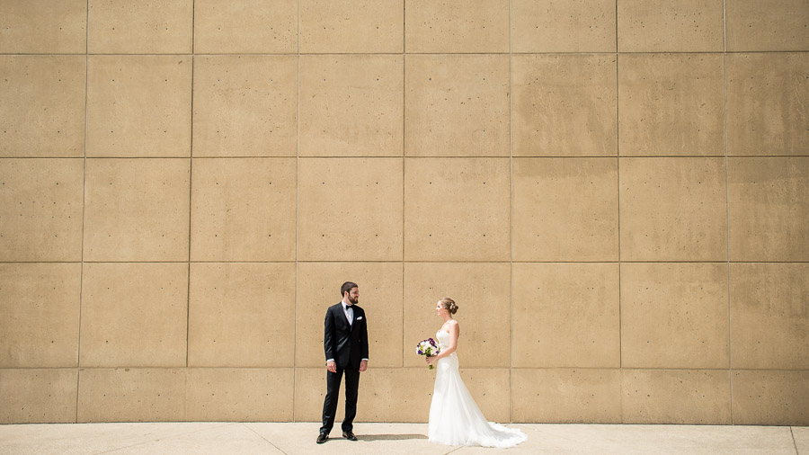 Art Museum Wedding Photos Bloomington