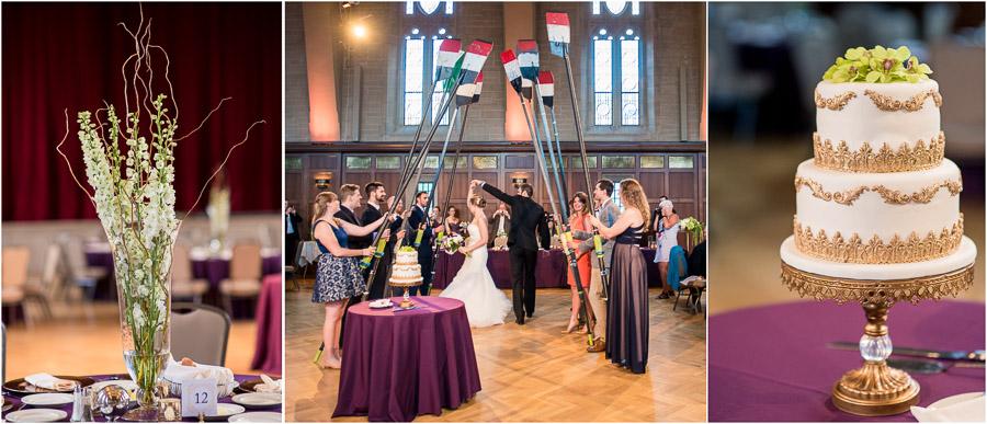 Alumni Hall Wedding Photos