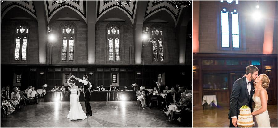 IU Wedding Alumni Hall