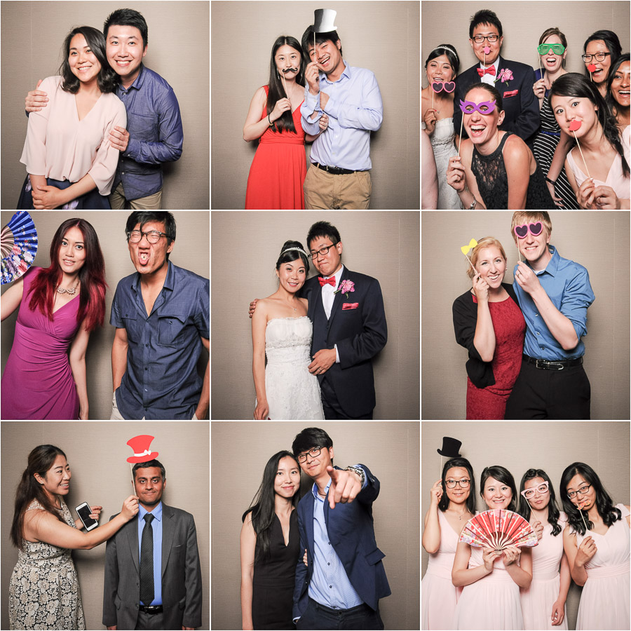 IU Bloomington Photobooth Wedding