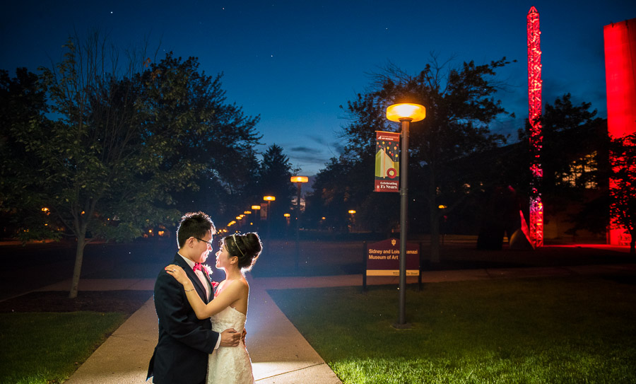 IU Art Museum Wedding Photography