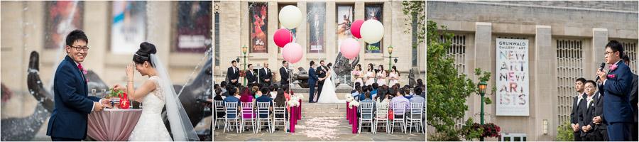 Showalter Fountain Wedding Photos