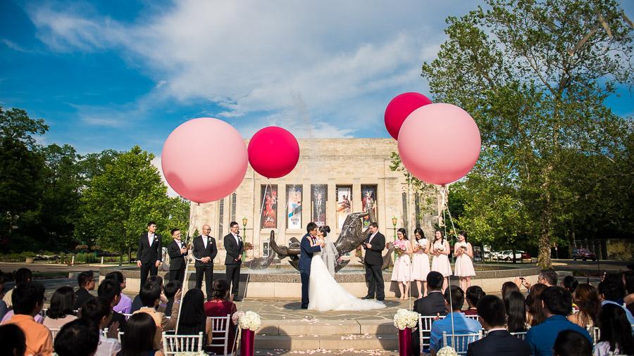 Showalter Fountain Wedding IU