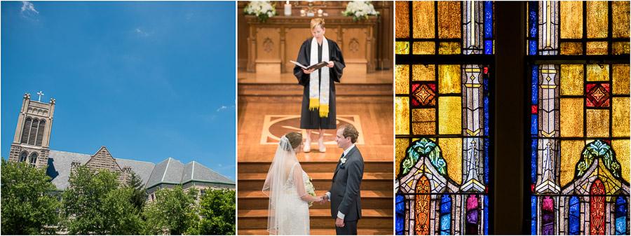 First United Methodist Church Wedding Bloomington Indiana