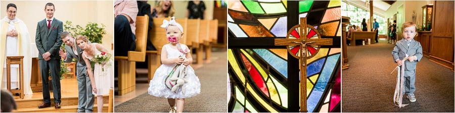 Nashville Indiana Wedding at St Agnus Church