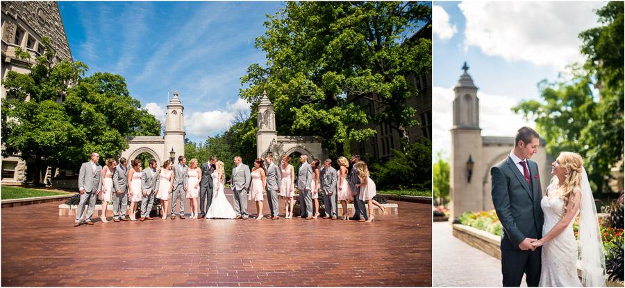 Sample Gates Bridal Party Photos