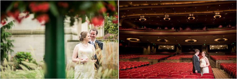 IU Auditorium Wedding Bloomington