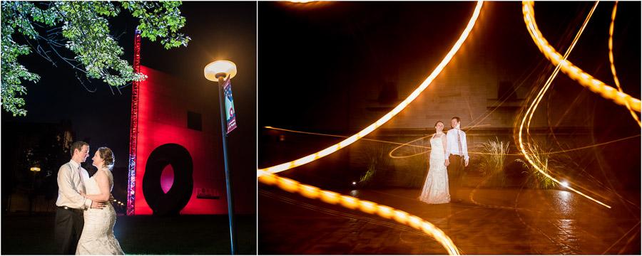 IU Auditorium Wedding Night Photos