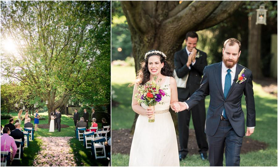 Avon Gardens Wedding Ceremony Photos