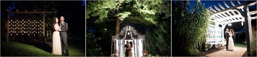 Avon Gardens Wedding Night Photos