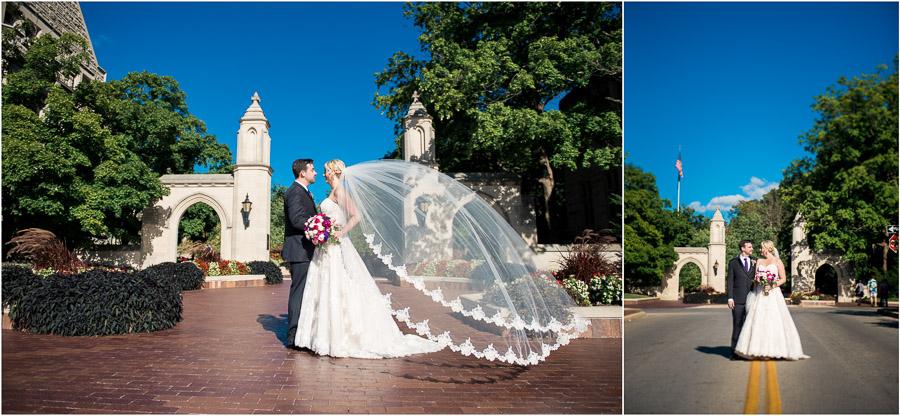 Indiana University Wedding Photos