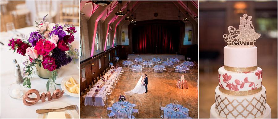 Indiana University Wedding Alumni Hall