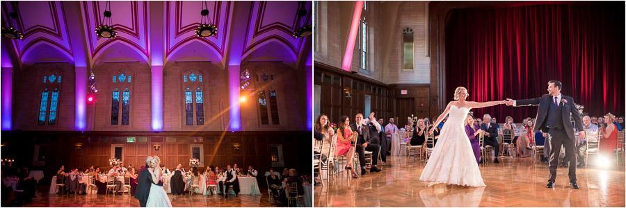 Indiana University Wedding Alumni Hall Photos