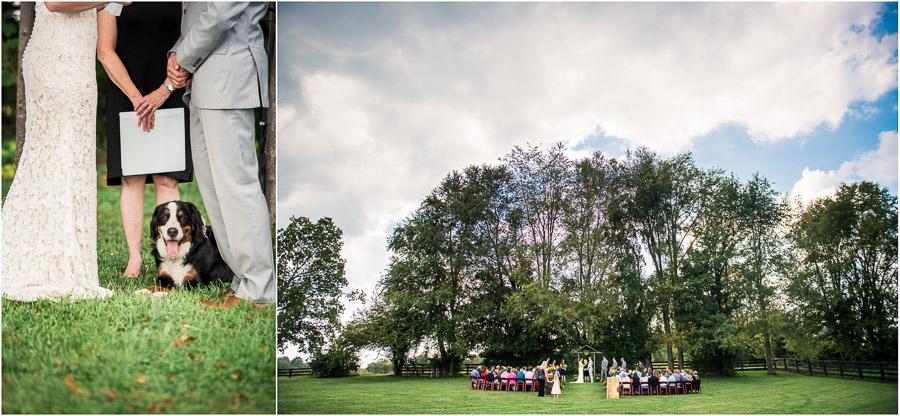 Beautiful Fall Wedding at Sycamore Farm in Bloomington