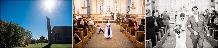 St John the Apostle Wedding Ellettsville Indiana
