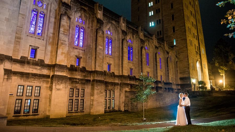 IU Bloomington Wedding Photography Memorial Union