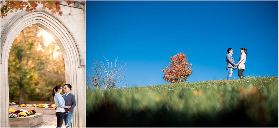 IU Engagement Photos
