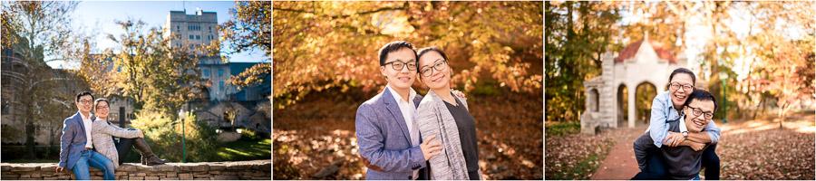 Fall IU Engagement Photos