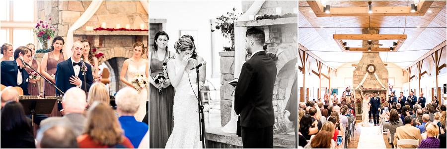 The Fields Wedding Ceremony Photos