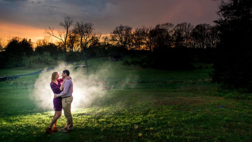 Harrisonburg Engagement Photography near Hillendale Park