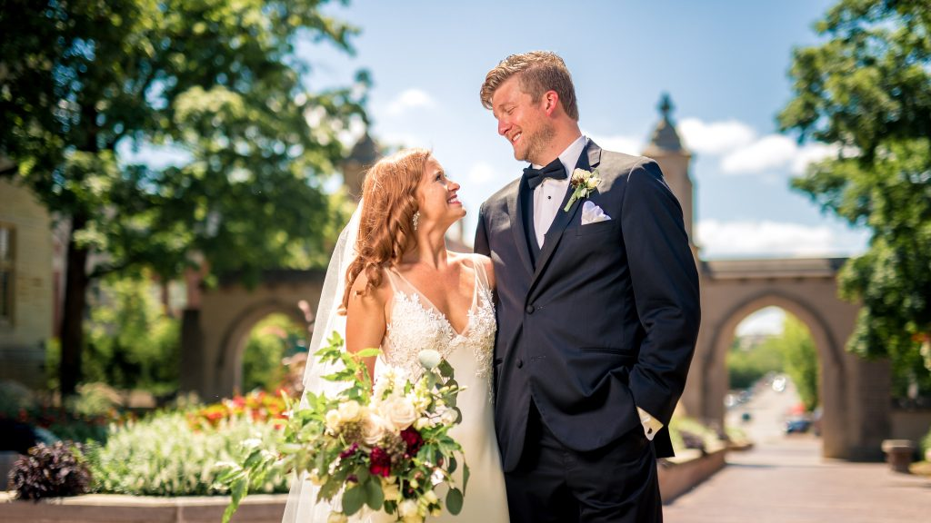 Sample Gates Wedding Portrait