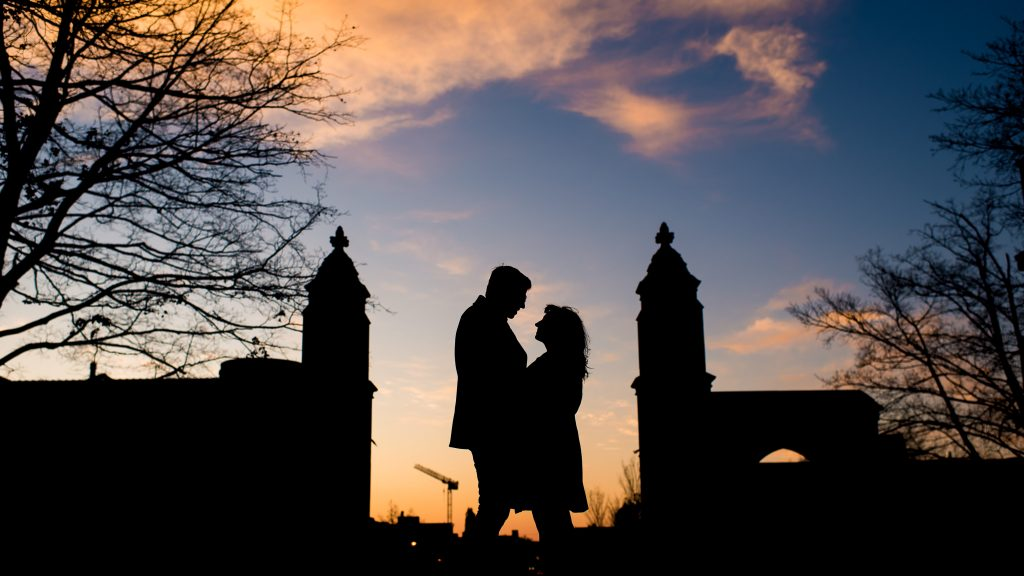 Wintertime IU Engagement