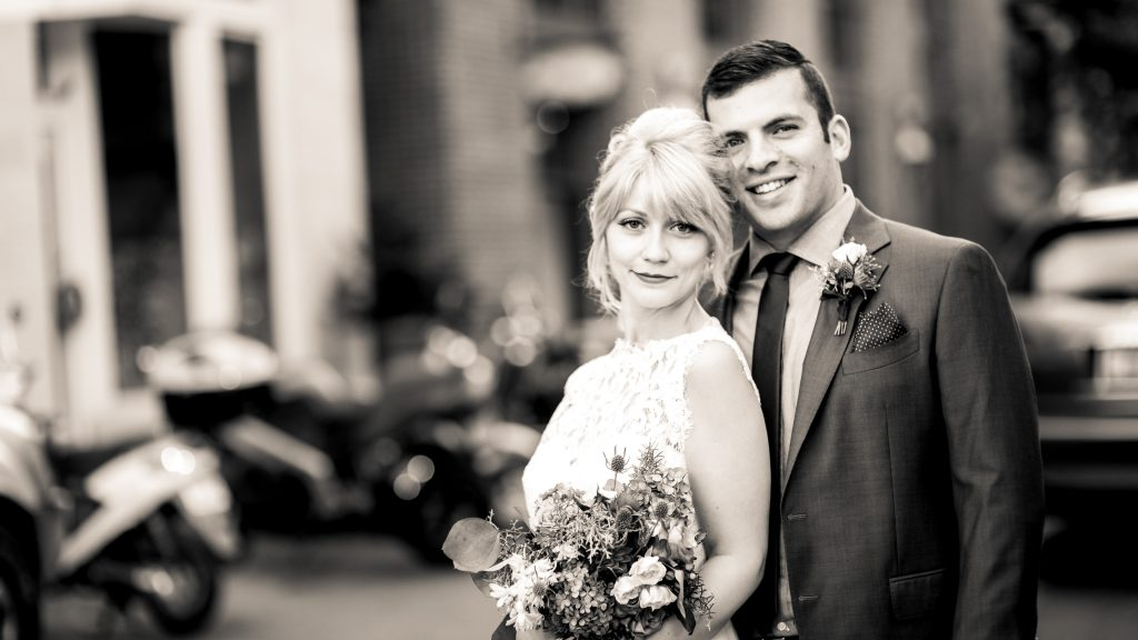 Downtown Charlottesville Wedding Photos