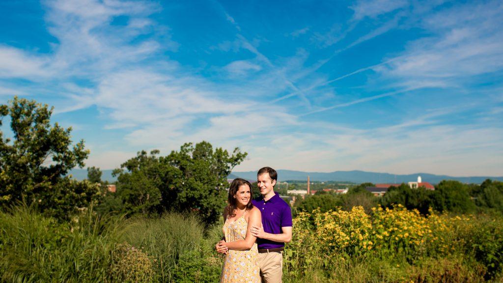 JMU Engagement Photos - Harrisonburg, VA