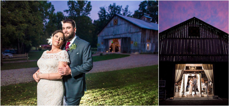 Old Barn Brown County Wedding Photos