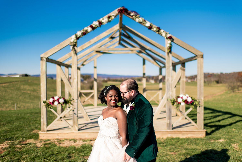 On Sunny Slope Farm Wedding