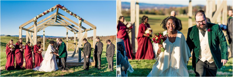 On Sunny Slope Farm Wedding Photo