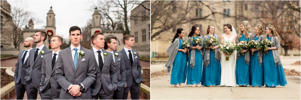 Indiana University Wedding Photos