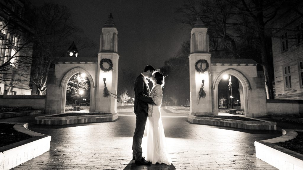 Indiana University Sample Gates Wedding Photos