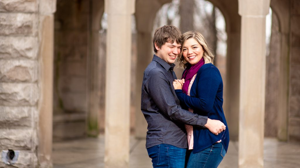 Sam + Jeremiah's Bloomington Engagement Photography