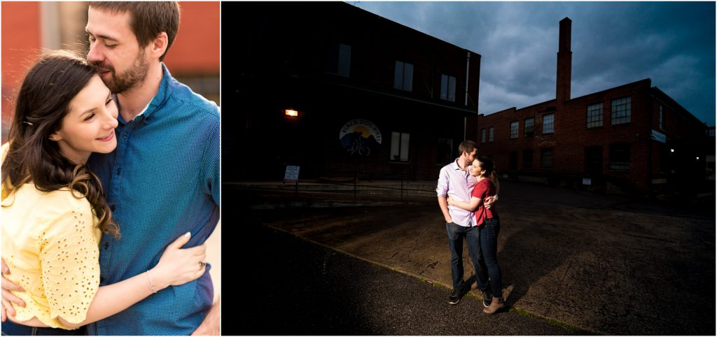 Ryan + Shannon's Staunton Virginia photography for their engagement photos
