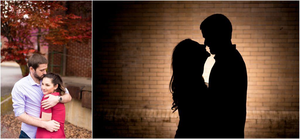 Staunton VA engagement photos of Shannon + Ryan