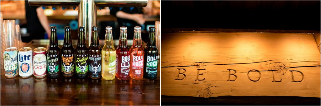 Wedding details from Bold Rock Cidery in Nellysford