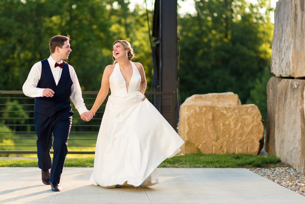 Sam + Jeremiah's Bloomington Woolery Mill Wedding Photos