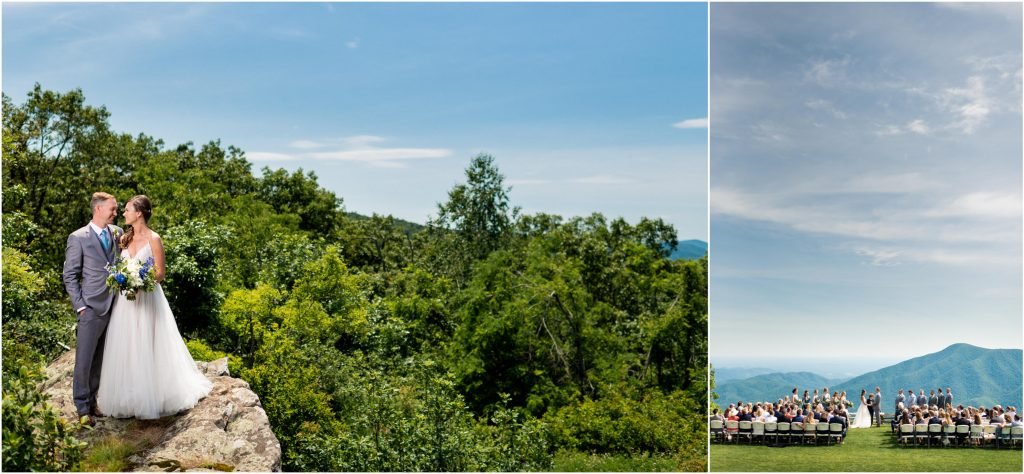 Wintergreen Resort Wedding Photography at the Blue Ridge Overlook