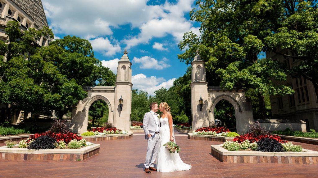 sample gates wedding photo