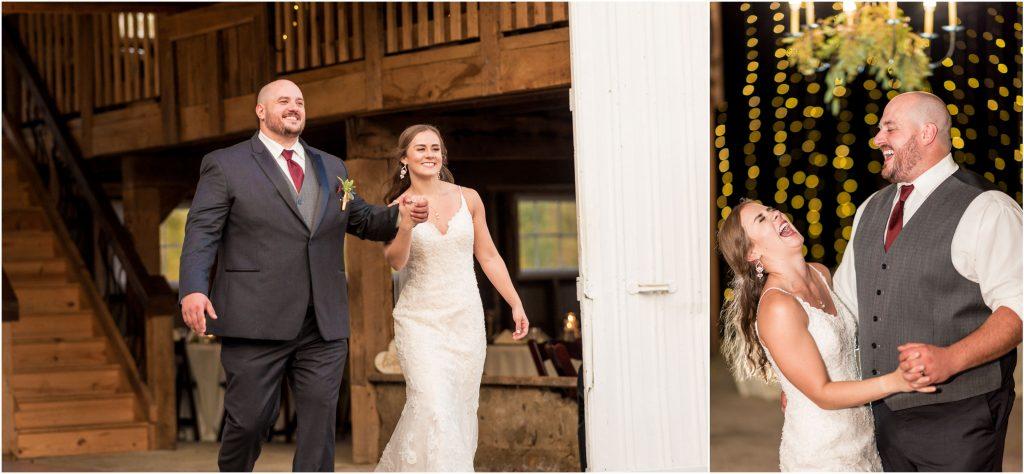 fun reception photos from rivercrest wedding