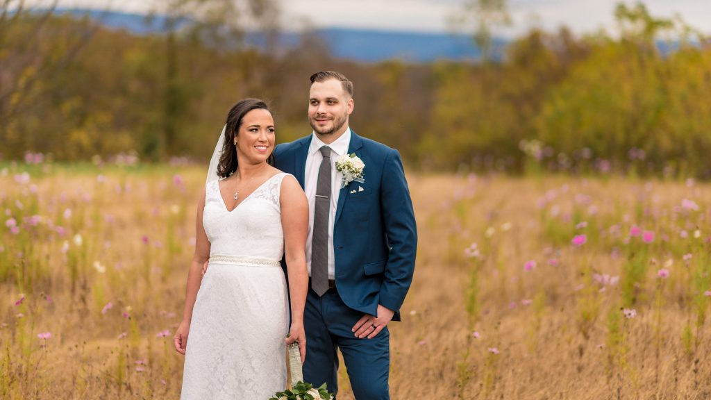 farm at glen haven wedding portraits
